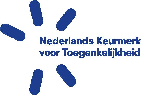 logo Nederlands Keurmerk voor Toegankelijkheid