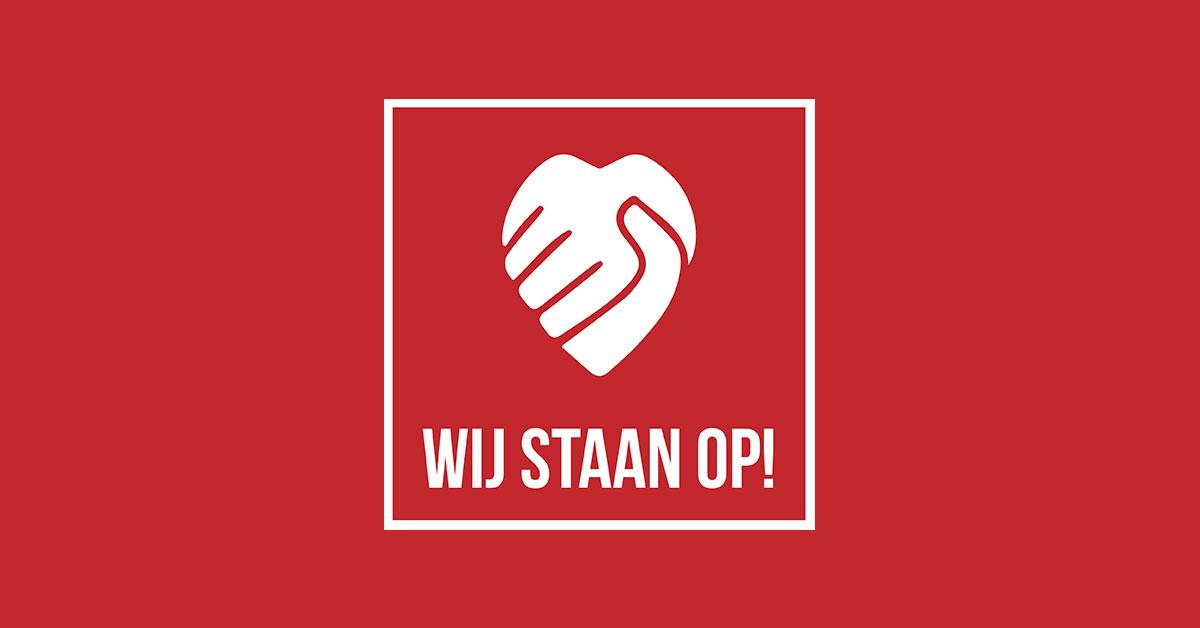 Logo: Wij Staan Op!