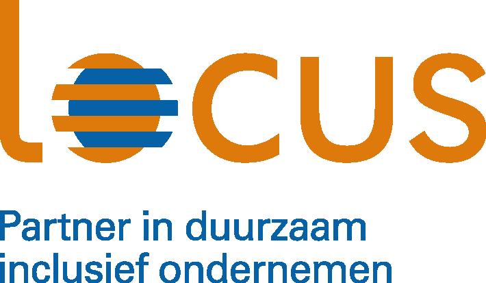 Logo: Locus, Partner in duurzaam inclusief ondernemen